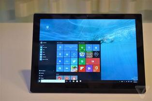 该机器上安装了一个英特尔RealSense摄像头,正是它把ThinkPad X1...