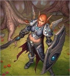 ...英雄传 血精灵圣骑士女伯爵莉亚德琳