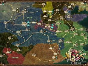 冰帝行都市-行政地图中,城市接点显而易见-城战三十六计 霸者无双 军团制胜秘籍