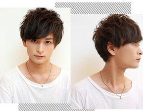 时尚的斜刘海短发-男生斜刘海发型图片 变帅只在一念之间哦