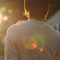 阳光唯美意境背影头像,唯美意境背影情侣头像-意境开车头像 微信头...