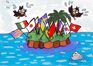 日本小镇举行讽刺漫画竞赛 领土争端主题获大奖