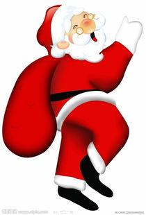 垂头丧气火柴人创意设计-圣诞老人图片