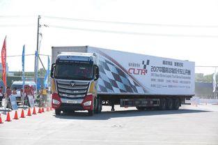 福田欧曼EST超级卡车 510马力6*4牵引车获得