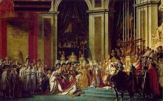 《拿破仑一世加冕大典》| 图片来源于网络提到卢浮宫,并不是要说卢...