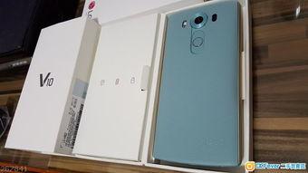 ... 限量版 湖水蓝色 99.9新 LG V10 64GB 全套 双卡4G