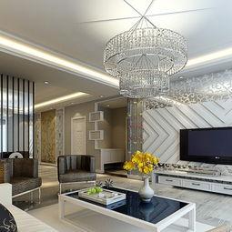 中式现代客厅电视背景墙装修效果图大全2012图片-装修电视背景效果图