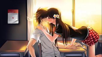 情人节主题动漫情侣亲吻壁纸第13页 高清桌面壁纸 精品壁纸站