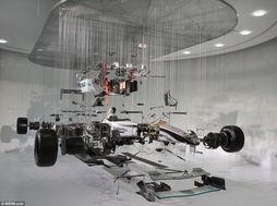 F1赛车内部构造曝光 分解成3200个零部件