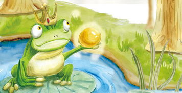 儿童折纸--青蛙王子!