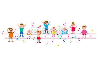 子供 五线谱 音符
