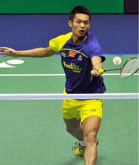 2014年中国羽毛球公开赛12日进... 阮天明(越南)、布桑兰.恩布鲁庞...