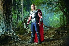 绿巨人 美国队长 雷神 钢铁侠 神啊,他们居然在同一部电影里