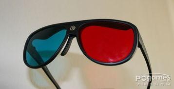 红蓝滤色式 3D 立体眼镜-眼镜式3D立体显示技术 一