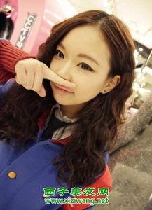 韩式中长发烫发发型图片 韩国女生最流行烫发造型