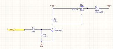 请教 S8050三极管做开关管用的电路图,供电电压3.3V