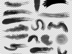 ...笔刷PNG透明背景免扣素材图片下载png素材 中国风素材
