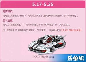 手机QQ飞车5月20表白周活动网址 手机QQ飞车5月20表白周活动详情