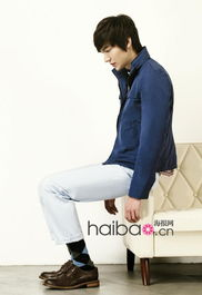 ...民浩演绎的韩国男士服饰品牌Trugen的2011年春季Lookbook-MinHo...