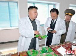 ...日朝中社消息,朝鲜最高领导人金正恩视察了平壤基础副食品厂.-...