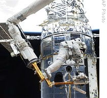 photo provided May 14, 2009 by NASA show