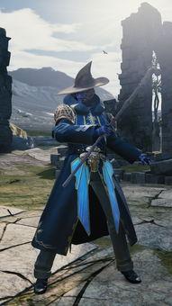 黑魔法师-Mevius最终幻想 游戏内新截图再次曝光