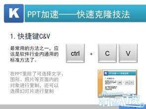 在PPT里除了可选择文字、图形、照片等页面内的对象进行复制,还可...