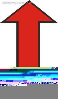 红色双向箭头 老人矢量图下载 1586255