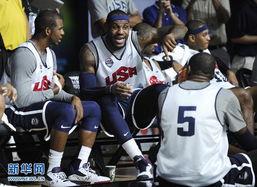 ...谈.当日,美国国家男子篮球队在华盛顿举行公开训练,备战伦敦奥...