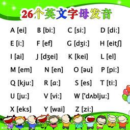 26个英文字母表 26个英文字母发音音标 大小写 沪江网