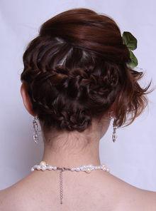 中式新娘发型教程