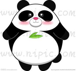 卡通抱枕熊猫图片