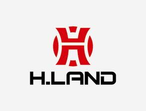 H.LAND 公司名称 企业标志