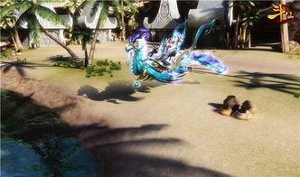 碧海游龙游戏截图-霸气叼炸天 斗仙 首款五人坐骑