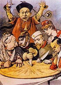 带着王国回明末-1.八国联军时期丑化中国的漫画