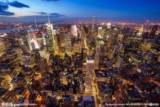 城市俯瞰图片