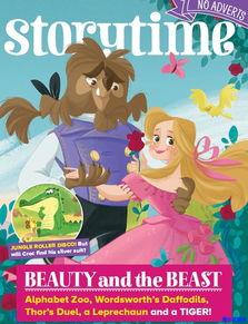 插画精美的儿童英语故事杂志 Storytime 百度网盘 儿童英文杂志 两小无...