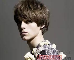欧美风男生短发发型一 -欧美男神短发发型图片 发型百科