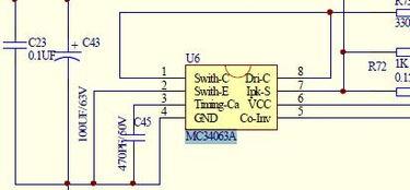 mc34063a应用电路 电子电路图,电子技术资料网站 -MC34063A应用...
