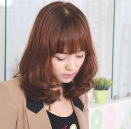 最新中长发发型图片 长发发型图片 长发发型 中长发烫发发型图片