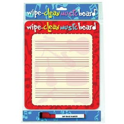 Wipe Clean Music Board Portrait Edition