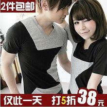 情侣装 夏装2013夏季情侣装短袖T恤杂志
