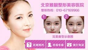 注射隆鼻整形手术风险高吗 北京知名美容医院哪个口碑较好