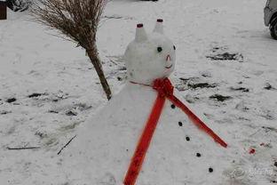 冬天懒人堆雪人