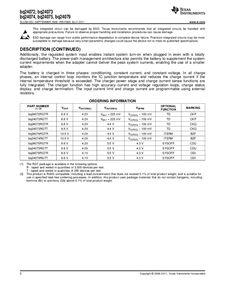 ...ents厂商 BQ24074 pdf预览第 2 页, datasheet数据手册下载 21ic电...