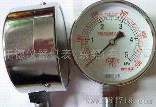 YE 75膜盒压力表