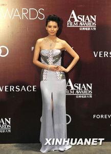 图集 第4届亚洲电影大奖颁奖典礼在香港举行