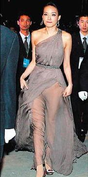 ...走红地毯穿长裙不穿内裤-天啦 这些明星 难道出门不知道穿内裤
