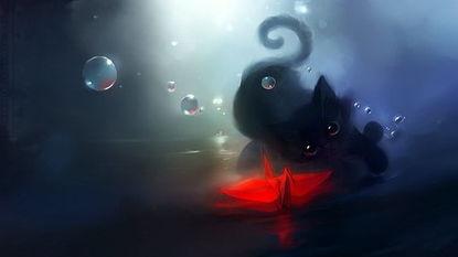 红色惨烈,蓝色忧郁,我是黑色……他们的结合-深呼吸,声音闻起来...