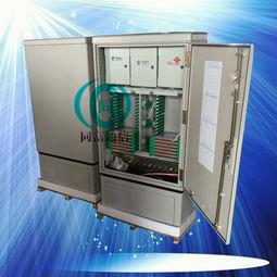 壁挂式144芯光缆交接箱型号规格尺寸介绍 壁挂式144芯光纤交接箱